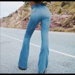 Revive denim Venus flared jeans size 28